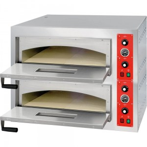 Piec do pizzy 2x4 fi 320 mm | STALGAST 781024