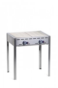 Grill Green Fire Kitchen Line 2-palnikowy | HENDI 149706