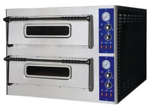 Piec do pizzy KITCHEN LINE 44 (2-poziomowy) | HENDI 226780